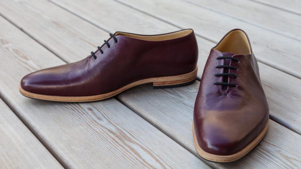 Maßschuhe Herren braun, rahmengenäht, Schuhe ohne Naht