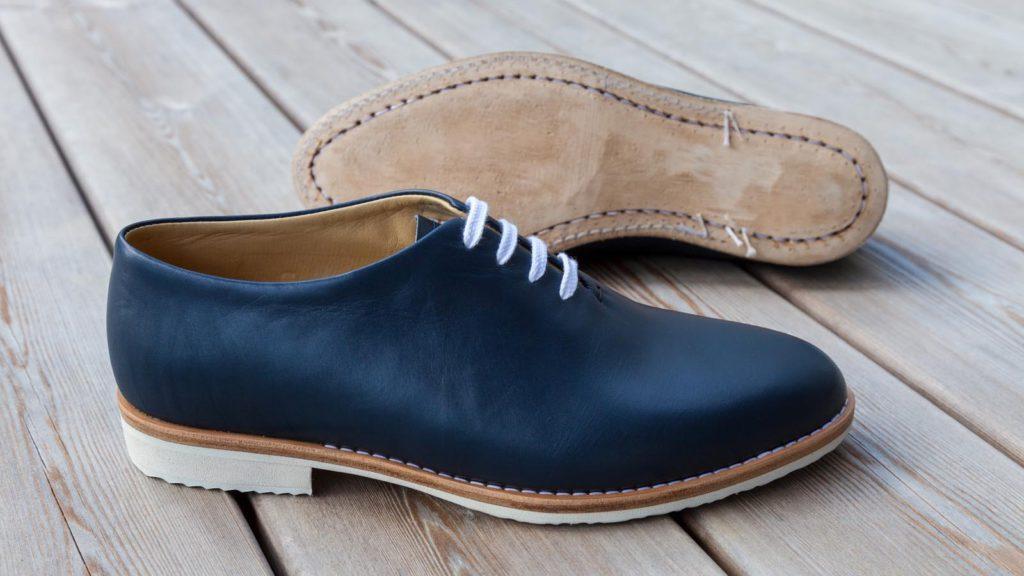 Schuhe ohne Naht für Herren, rahmengenäht