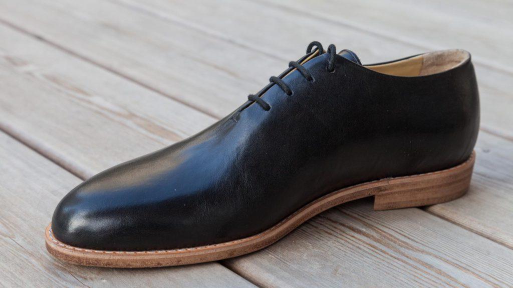 Herrenschuhe schwarz, rahmengenäht, Schuhe ohne Naht