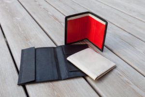 handgefertigte Brieftaschen aus Leder