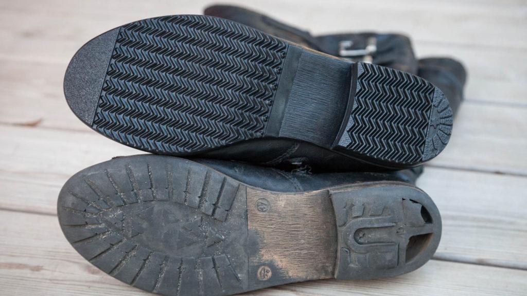 Schuhreparatur Stiefel Sohle