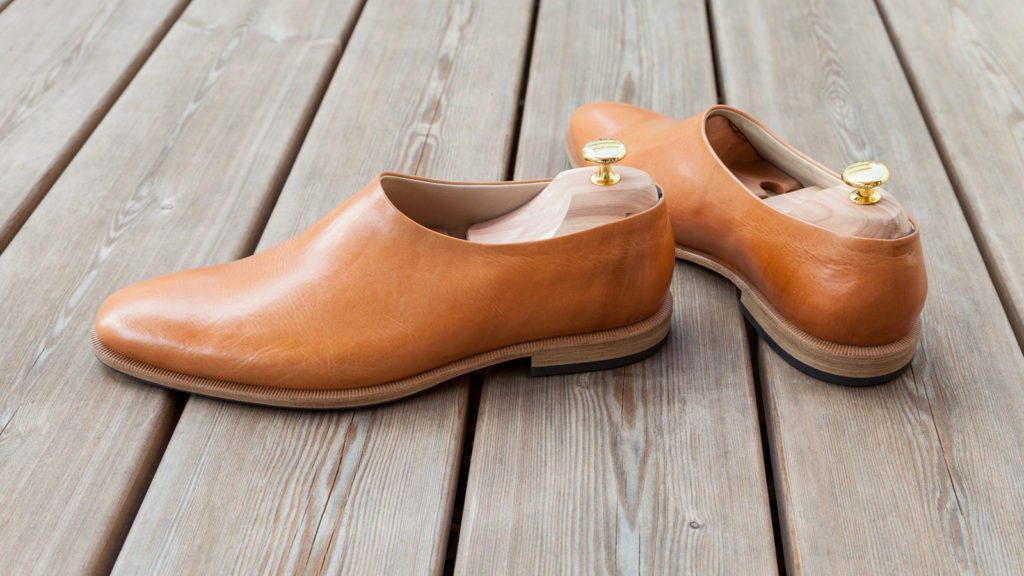 Herrenschuhe nach Maß, Schuhe ohne Naht